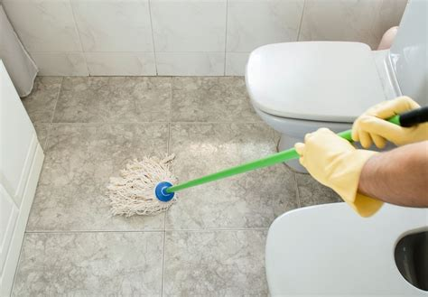Clean Bathroom Floor by Easy Tips To Clean Your Bathroom Hipages Au