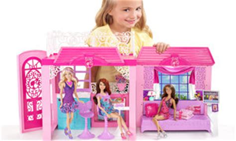 barbie doll beach house amazon com barbie glam vacation house toys games