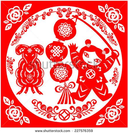 new year goat picture new year stock vector 168944273