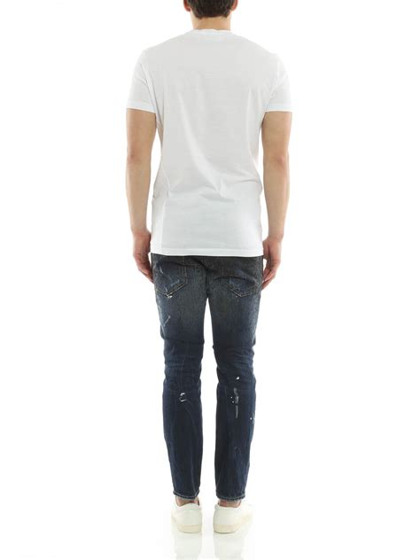 techno japan dsquared2 techno japan t shirt t shirts s74gd0087