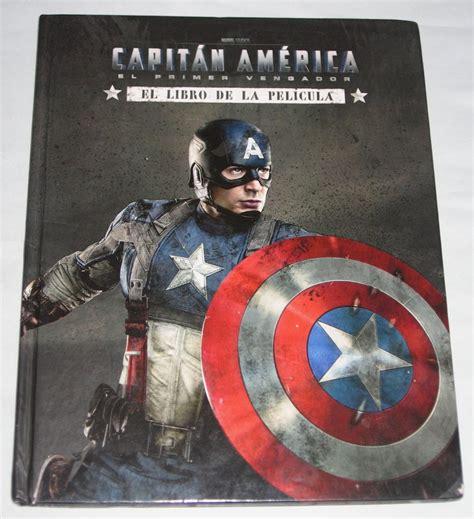 libro captain america white captain america first avenger spanish edition el primer vengador libro pelicular marvel hardcover