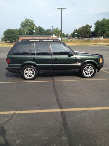 2000 land rover green sell used 2000 land rover range rover hse sport utility 4