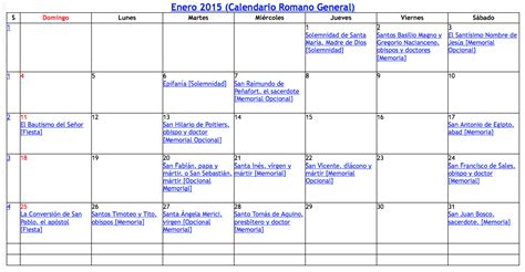 calendario catolico images search