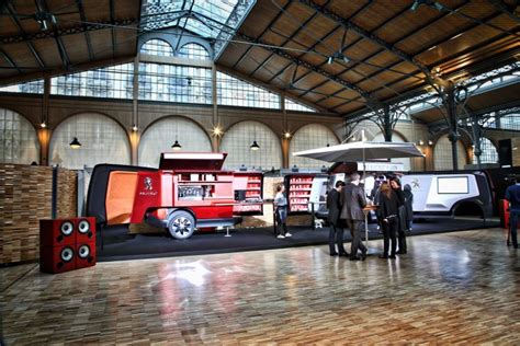 food truck design concept peugeot design lab creates foodtruck mobile restaurant