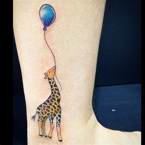 small giraffe tattoo best 25 giraffe tattoos ideas on baby giraffe
