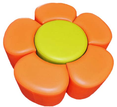 flower ottoman flower ottoman set dva fabrications