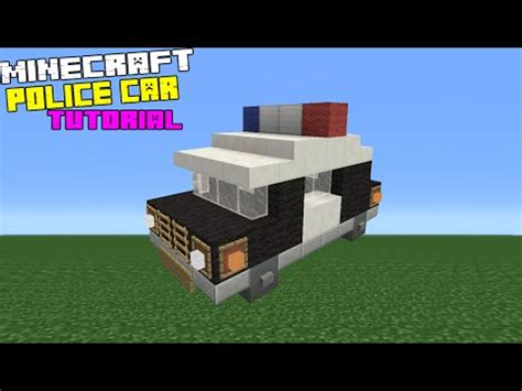 minecraft police car minecraft how to make a police car doovi