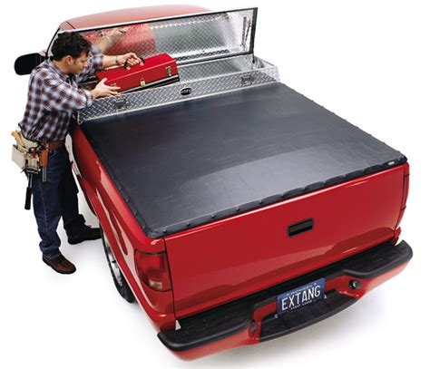 truck bed cover with tool box extang fulltilt tool box tonneau cover free shipping