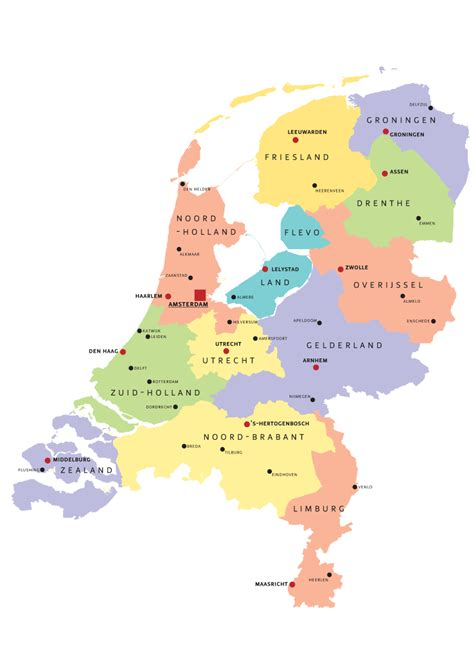 map of the netherlands file provinces of the netherland png wikimedia commons