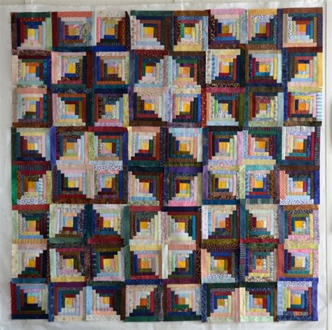 Log Cabin Quilt Pattern Variations by Log Cabin Quilt So Many Variations Quilty Pleasures