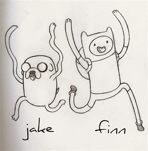 imagenes de fin y jake en blanco y negro un dibujo de finn y jake en el foro union dibujantes
