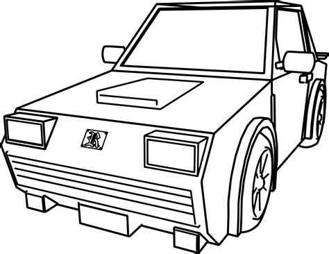 car for cartoon cars coloring page wecoloringpage