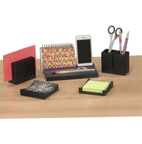 Office Desk Organizer Sets Office Desk Accessories Set Hostgarcia