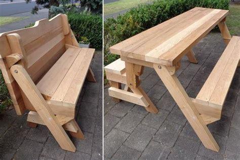 piece folding bench  picnic table plans downloadable