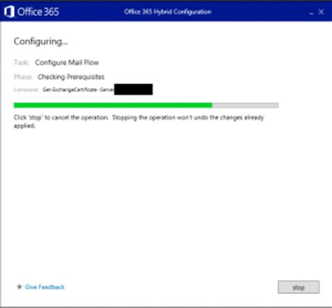 Office 365 Hybrid Configuration Wizard Hybrid Configuration Wizard Hcw Exchange 2013 And