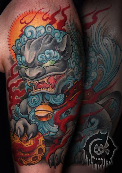 tattoo foo dog designs pin by steven etzel on ink tattoos foo