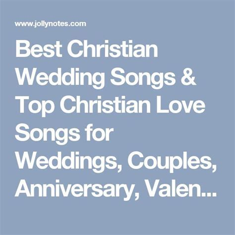 25  Best Ideas about Christian Wedding Songs on Pinterest