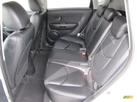 Kia Soul Leather Interior by Black Leather Interior 2010 Kia Soul Ghost Special Edition