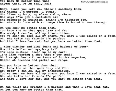 better by you better than me lyrics you me better than that by george strait lyrics