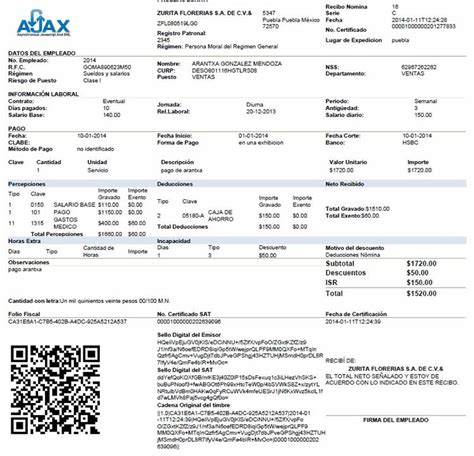 recibos de pago de nmina cdmx imprimir recibo de nmina cdmx newhairstylesformen2014 com