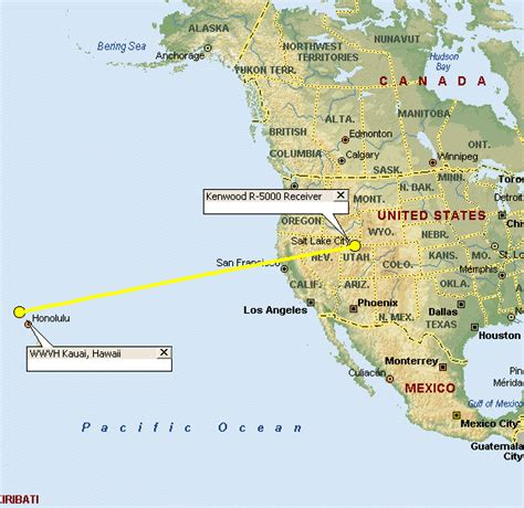 Home Design Shows Usa direct path to slc receiver from wwvh in kauai hawaii