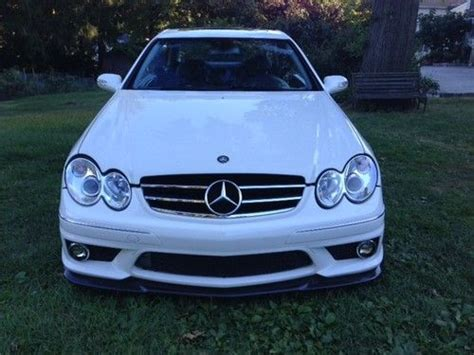 buy used 2005 mercedes clk55 amg customized to clk63
