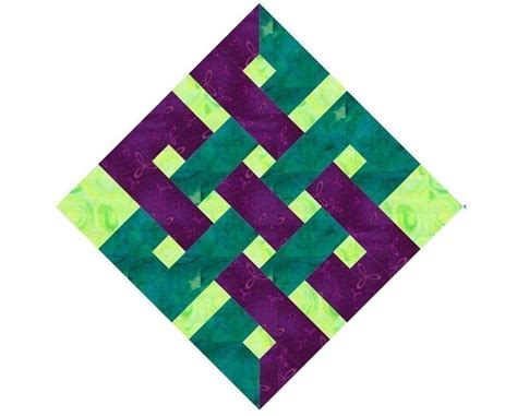 paper pattern blocks eternity knot paper pieced quilt block pattern pdf