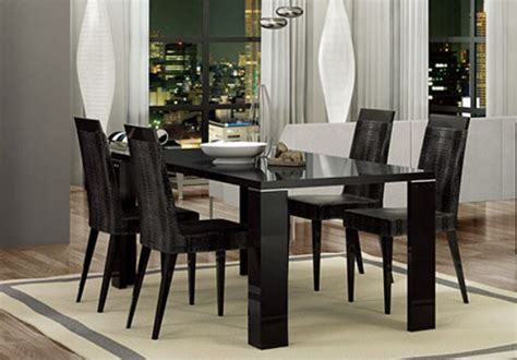 black lacquer dining room table black lacquer dining table