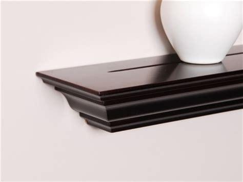 Crown Shelf by Crown Molding Shelf 48 Inch Modern Display And Wall