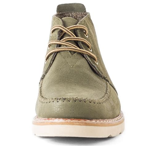 toms chukka boot mens boots olive new shoes ebay