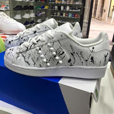 Adidas Superstar Cowok Premium White 1 adidas superstar white black verniciate 2016 u premium
