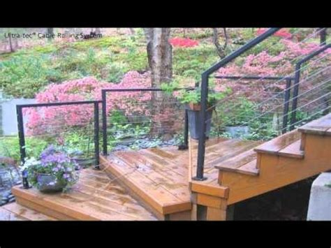 aluminum deck railing systems san francisco to new york 17 best images about cable railing system parts on