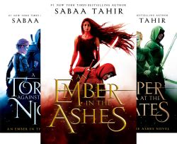 Ash Ember Series an ember in the ashes 3 book series