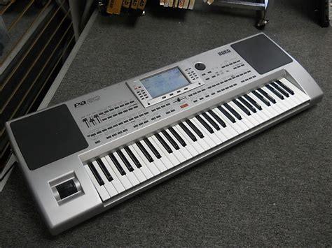 Keyboard Korg Pa korg pa 80 professional arranger 61 key synth keyboard reverb