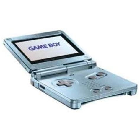 game boy advance model ags 101 pearl blue game boy advance sp system used