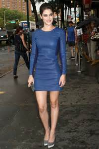Leather dresses leather dresses women blue leather dress