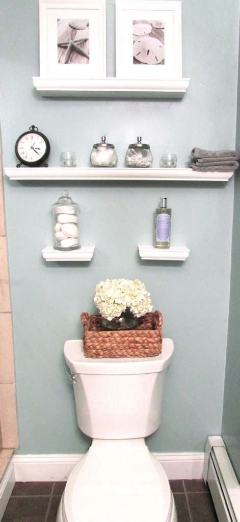 Decorating Ideas For Bathroom Shelves Small Bathroom Decorating Ideas Decozilla Home Decorating Diy
