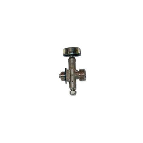 rubinetto gas rubinetto con sfiato per bombole con attacco quot cing gaz