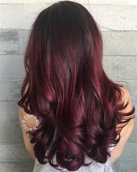 koleston maroon hair color 45 shades of burgundy hair dark burgundy maroon