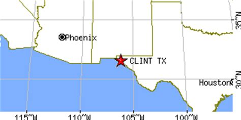 clint texas map clint texas tx population data races housing economy