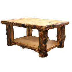 Wooden Living Room Tables Log Coffee Table Country Western Rustic Cabin Wood Table Living Room Decor Ebay