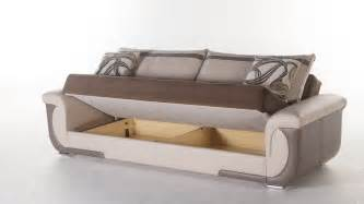 Storage Sofa Bed Furniture Lima S Sofa Bed With Storage