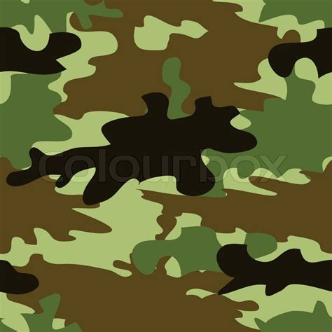 army pattern eps seamless camouflage pattern stock vector colourbox