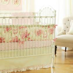 roses for crib bedding set by new arrivals inc