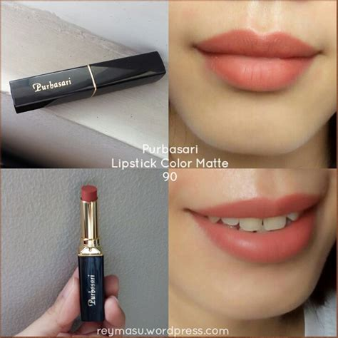 Lipstik Purbasari Color Matte No 90 purbasari lipstick color matte no 90 reymasu