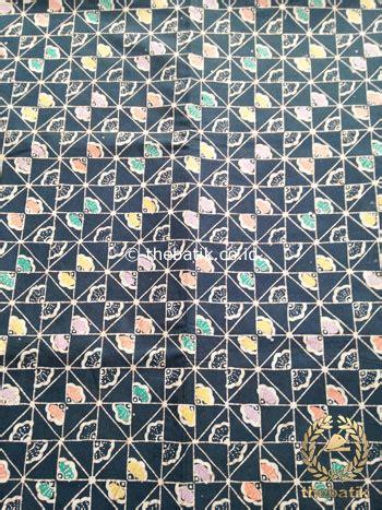 Kain Batik Cap Indigo Not Balok jual kain batik indigo coletan motif baris kundur