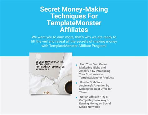 template monster affiliate program gallery templates