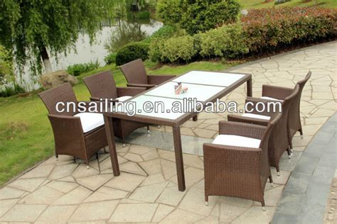 Hot sell all weather patio furniture rattan outdoor furniture view rattan outdoor furniture