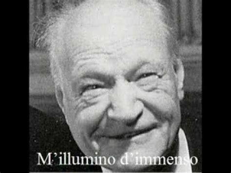 m illumino d immenso ungaretti m illumino d immenso giuseppe ungaretti