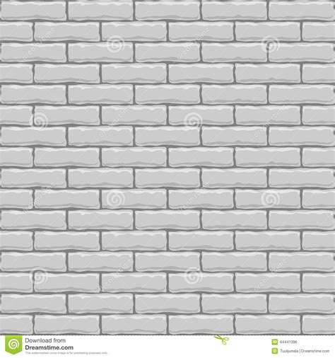 Wallpaper Kitchen Backsplash mur de briques blanc sans joint illustration de vecteur